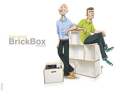 cea3a3262a53ec8aaf5cdfe8552ad122 - BrickBox : Bibliotheque Modulable