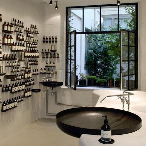 , Boutique Aesop Paris Le Marais : Cosmétiques Naturels
