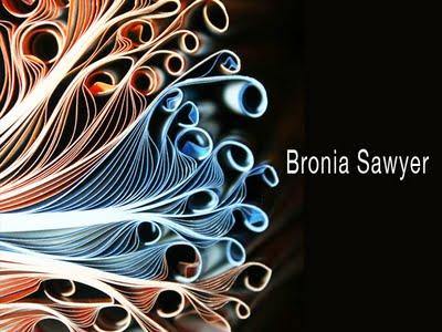Bronia Sawyer Artworks 1 - Bronia Sawyer : Papier et Sculptures de Livres