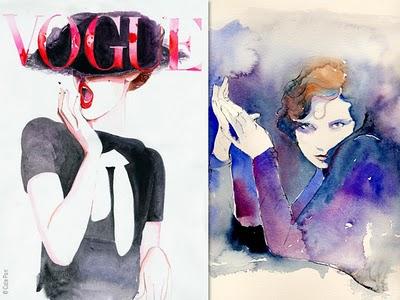 , Cate Parr : Elegantes Illustrations de Mode