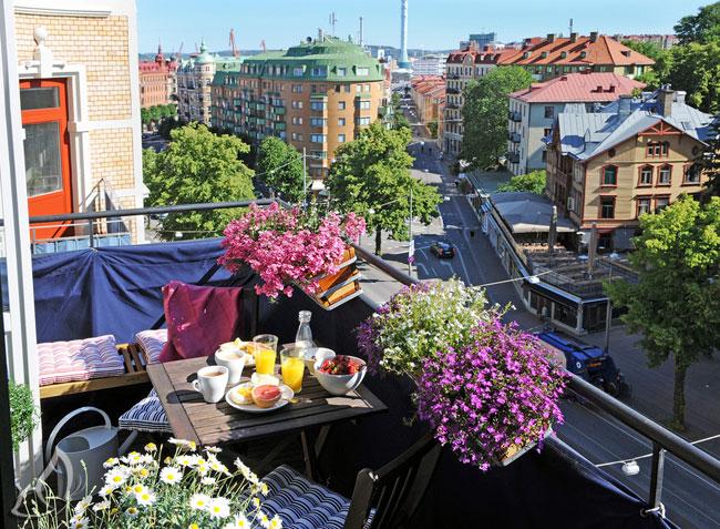 Matthew Brodie Balcony 3 - Deco : Des Balcons Fleuris en Ville