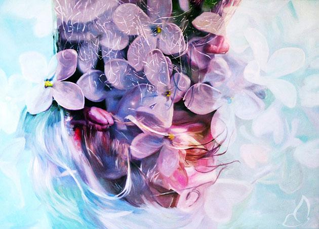 , Peintures par Pakayla Biehn : Double Exposition