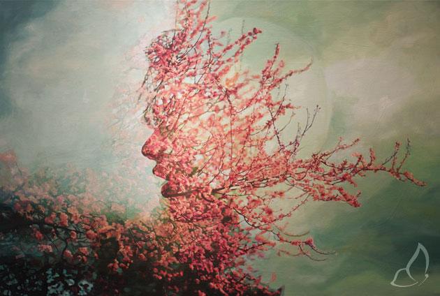 Pakayla Biehn Double Exposure 5 Peintures par Pakayla Biehn : Double Exposition