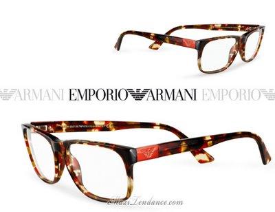 Lunettes Emporio Armani Collection Ete 2009 Maxitendance