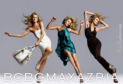BCBG Max Azria x Eva Herzigova Pub Eté 2009