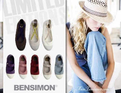 bensimon ss09c Bensimon : Tennis Editions Limitées Ete 2009