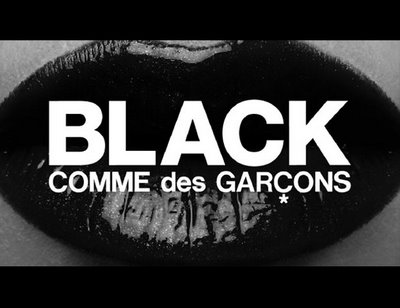 , Black Comme des Garcons : Pop Up Store