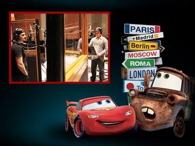 , Cars 2 : Video Clip avec Robbie Williams et Brad Paisley