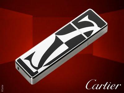 , Clé USB Cartier Logotype en Palladié