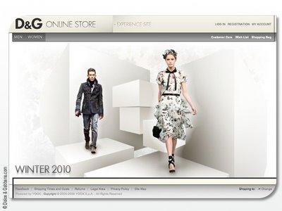 dg online 0 DolceGabbana.com : La Boutique en Ligne