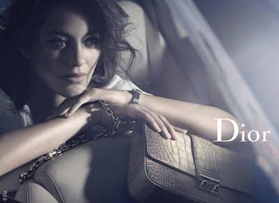 , Sacs Miss Dior Marion Cotillard : Campagne Hiver 2011