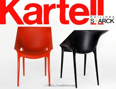 Kartell Dr.Yes by Philippe Starck : Chaise pour Dr No - MaxiTendance