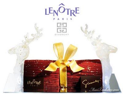 Givenchy pour Lenotre : Buche de Noel 2008