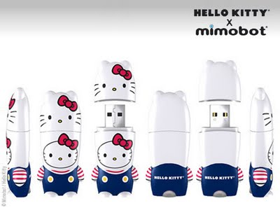 , Hello Kitty x Mimobot : Clés USB Robot Girly