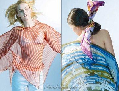 , Carre Hermès : Collection Printemps Ete 2009