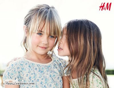 hm kids ss09a H&M Enfants : Collection Printemps Eté 2009
