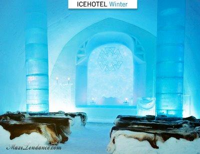 , Ice Hotel Winter : Hotel de Glace 5 Etoiles