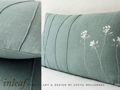 inleaf 05 Inleaf par Lotta Helleberg : Creations Textile Bio