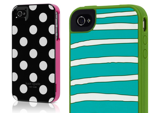 kate spade iphone case 2 Etuis iPhone par Katie Evans : Couleurs et Rayures
