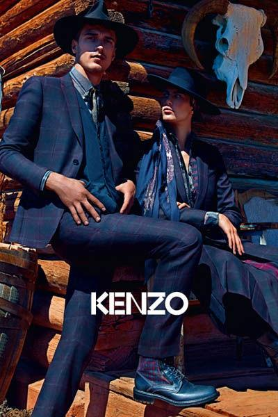 , Kenzo Automne Hiver 2011 2012 Campagne