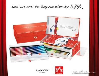 , Caran d'Ache x Lanvin SupraColor Edition 20 ans