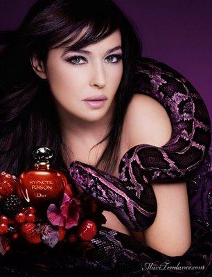 , Monica Bellucci : Icone de Dior Hypnotic Poison