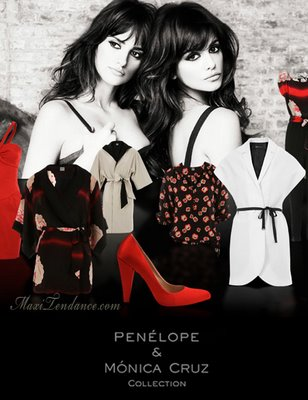 penelope mango ss09a Penelope & Monica Cruz for Mango Collection Eté 2009