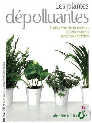 , Plantes Vertes Depolluantes : Un Livre Indispensable