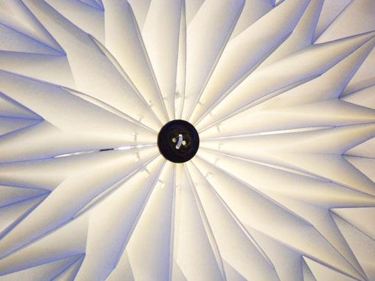 snowpuppe lamp 2 - Studio Snow Puppe : Suspensions Origami