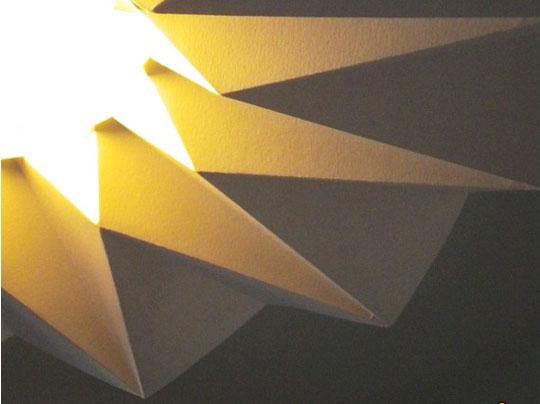 snowpuppe lamp 4 - Studio Snow Puppe : Suspensions Origami
