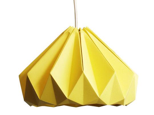 snowpuppe lamp 5 - Studio Snow Puppe : Suspensions Origami
