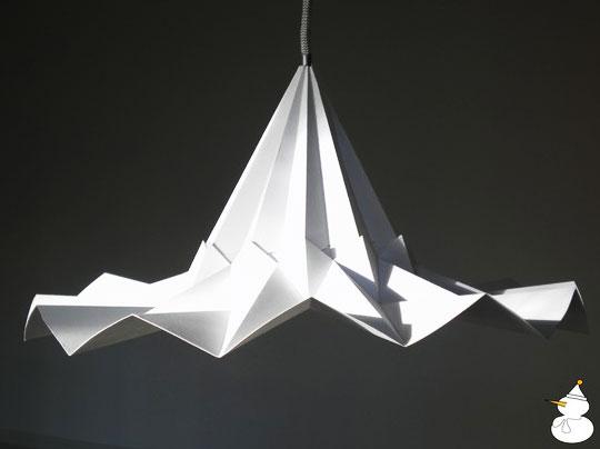 snowpuppe lamp 6 - Studio Snow Puppe : Suspensions Origami