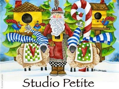 studio petite Jennifer Lambein 1 Studio Petite : Authentiques Cartes de Noel et de Voeux