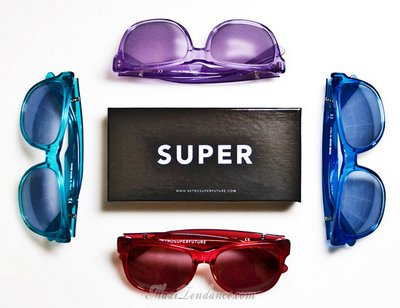 super sunglasses 2 SUPER Sunglasses : Lunettes de Soleil Eté 2009