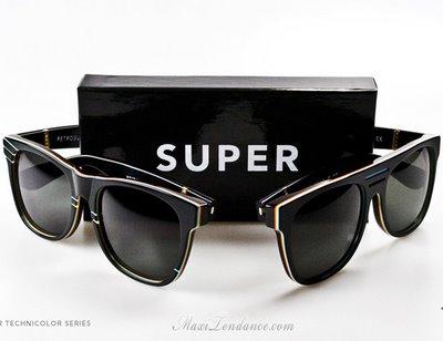 super sunglasses 5 SUPER Sunglasses : Lunettes de Soleil Eté 2009