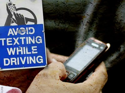 , Pub Choc : Dangers du Telephone Mobile au Volant