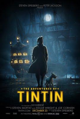 , Film Les Aventures de Tintin Le Secret de la Licorne : Bande Annonce et Affiches