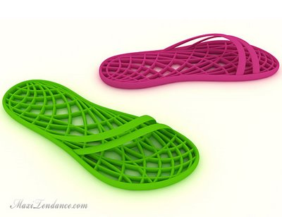 tongs spa 2 - SPA Slippers by Ondrej Vaclavik : Des Tongs pour spa