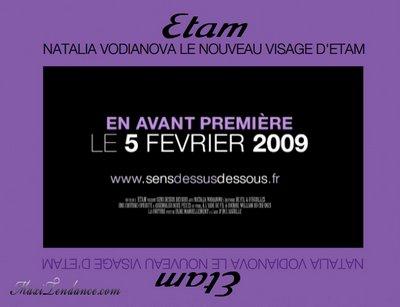 vodianova etam12 - Natalia Vodianova x Etam : Nouvelle Egerie Eté 2009
