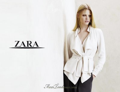 zara ss09 0 Zara Femmes Collection Printemps Eté 2009