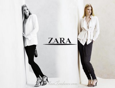 zara ss09 3 Zara Femmes Collection Printemps Eté 2009