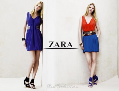 zara ss09 5 Zara Femmes Collection Printemps Eté 2009
