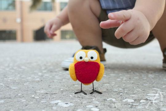 , Lauren Alane : Adorables Petits Oiseaux en Feutrine