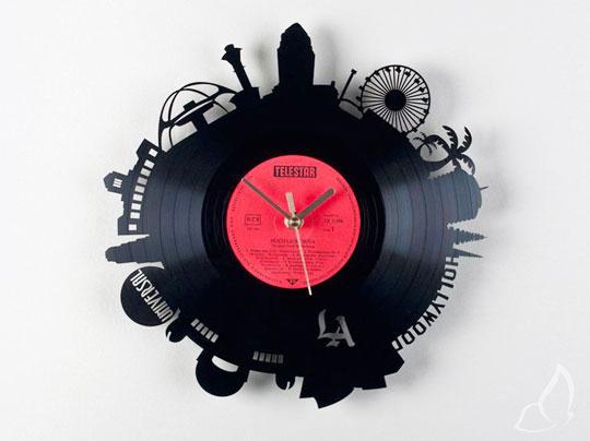 , Horloges par Pavel Sidorenko : Scenographies sur Disques Vinyles