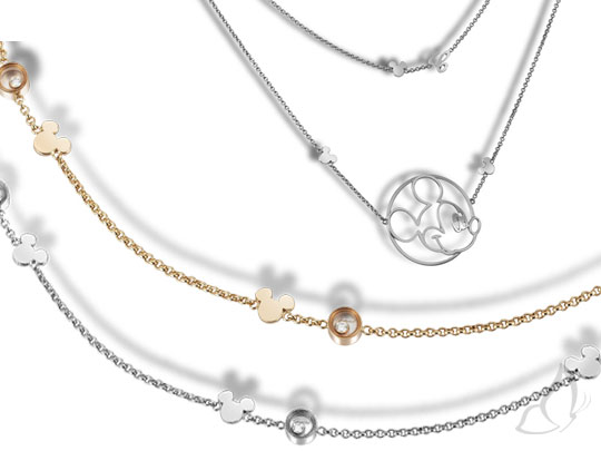 , Chopard Happy Mickey Collection : Montres et Bijoux de Luxe