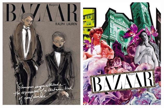 , Harpers Bazaar Russe : 15 Illustrateurs pour le 15e Anniversaire