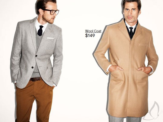 , H&M Homme Hiver 2011 2012 Campagne