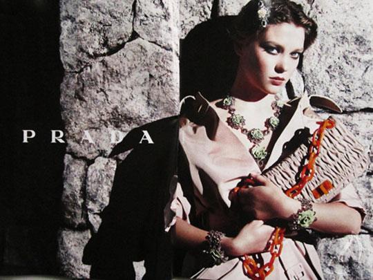 Léa Seydoux pour Prada Resort 2012