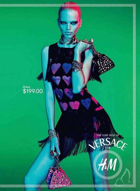 , H&M Versace Campagne Pub Premiers Visuels