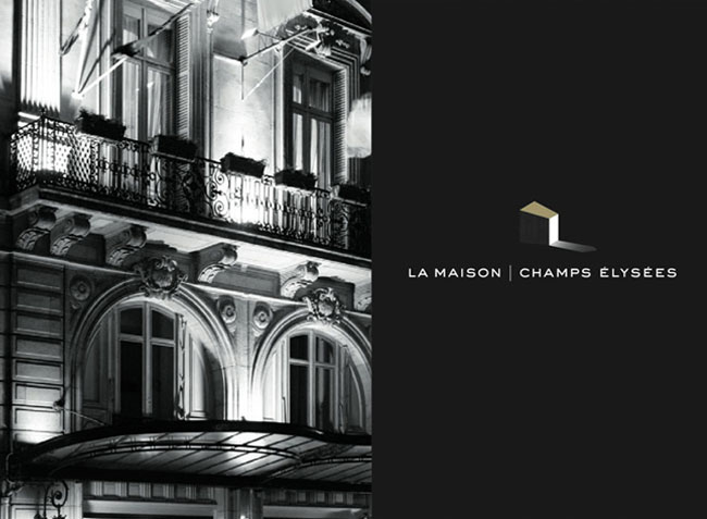 hotel maison champs elyses interesting la maison champs elyses paris a member of design hotels. Black Bedroom Furniture Sets. Home Design Ideas